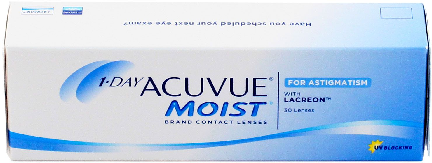 1-DAY Acuvue Moist for ASTIGMATISM 30