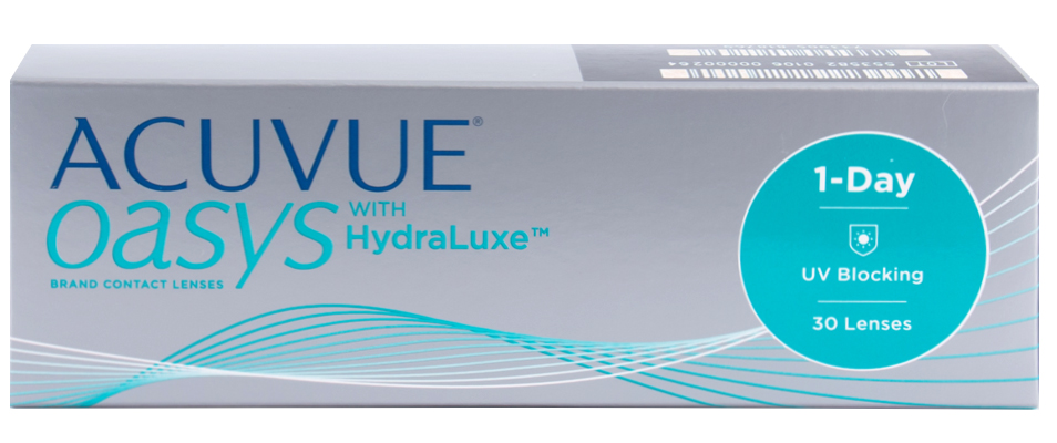 1-Day Acuvue Oasys with HYDRALUXE 30